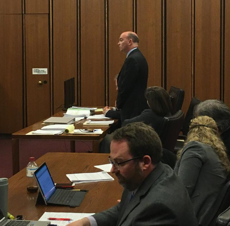 Picture of Youngstown Mayor John McNally in court
