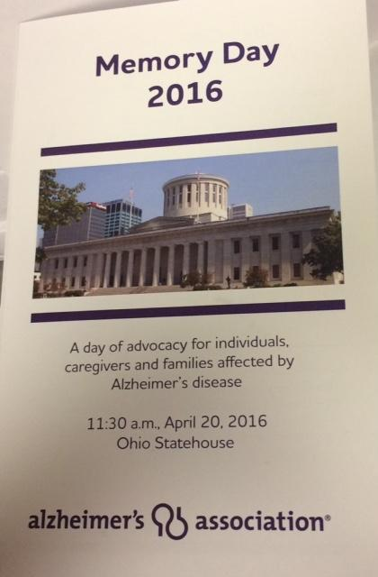 Photo of Ohio Memory Day program