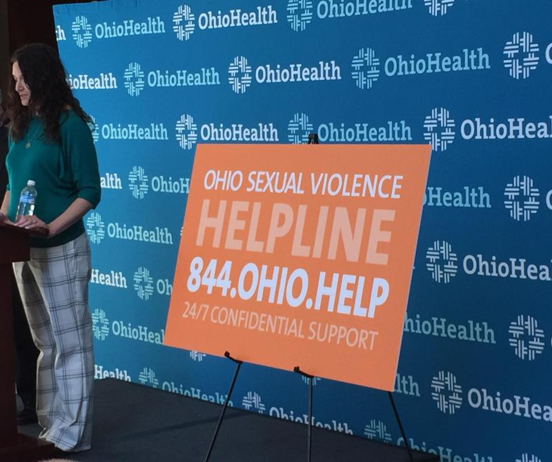 Photo of sexual violence hotline conference