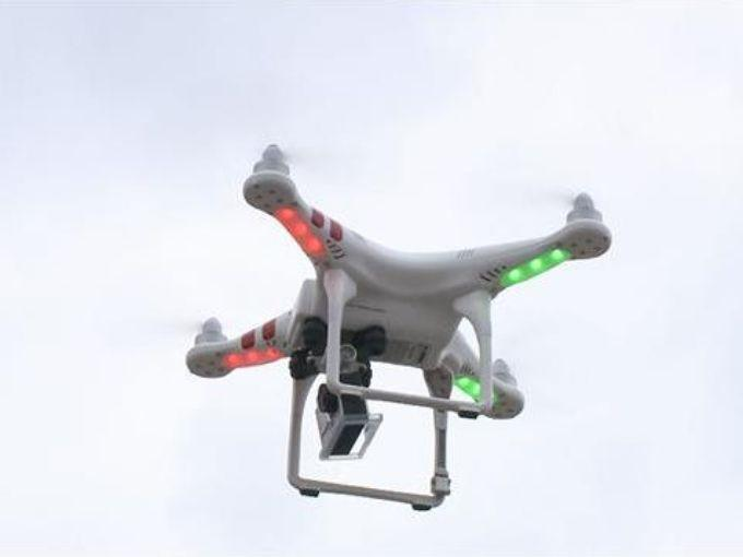 picture of a drone in flight