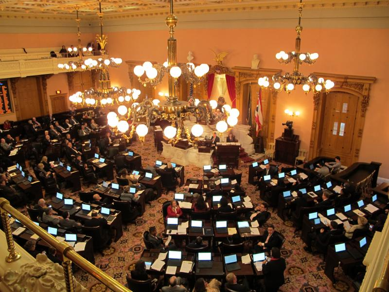 Photo of the Ohio House chambers