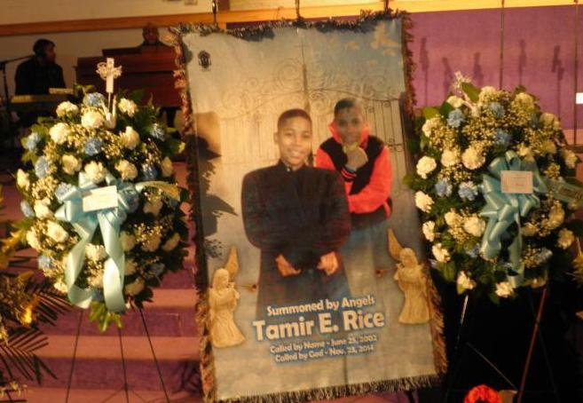 Tamir Rice's funeral