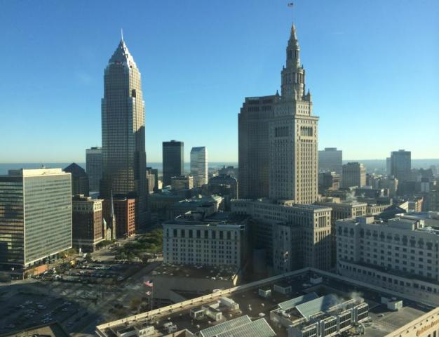 Picture of downtown Cleveland
