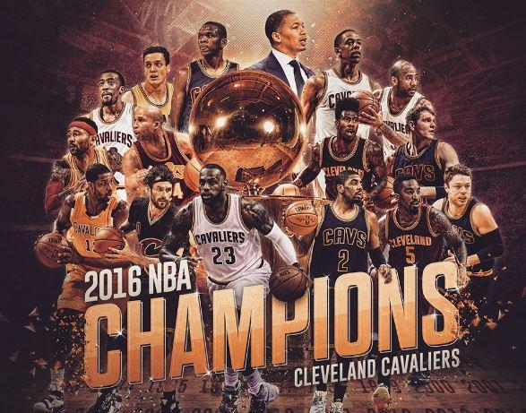 NBA champion cavs