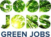 Good Jobs, Green Jobs logo