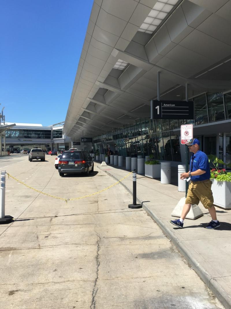 Renovated Hopkins Airport exterior