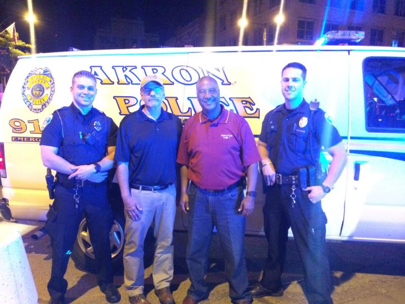 photo of Akron police