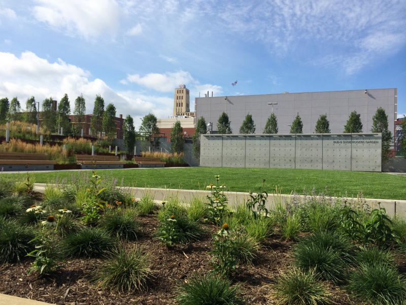 The Akron Art Museum Has Unveiled Its New, $5 Million Garden | WKSU