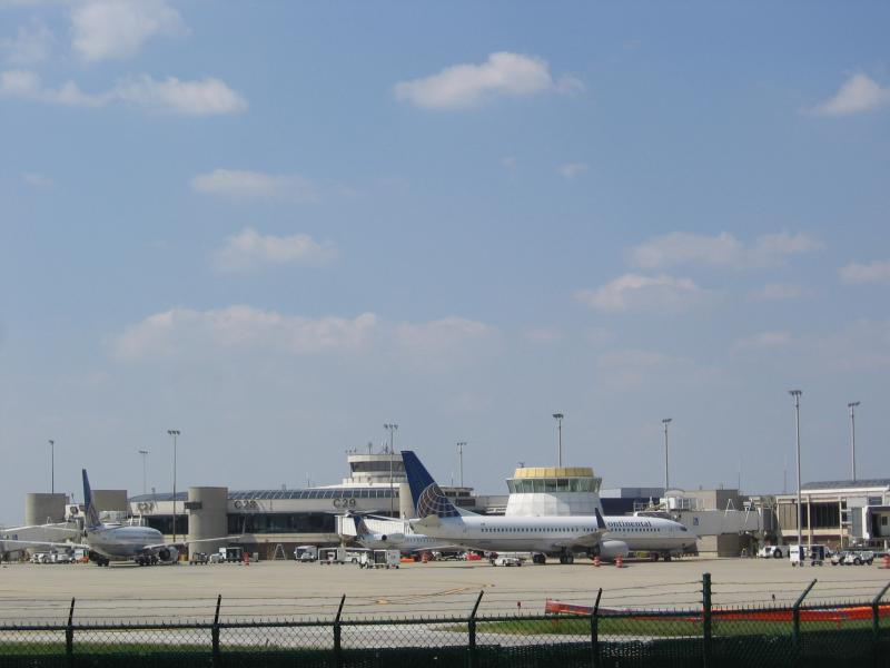 photo of Cleveland Hopkins airport
