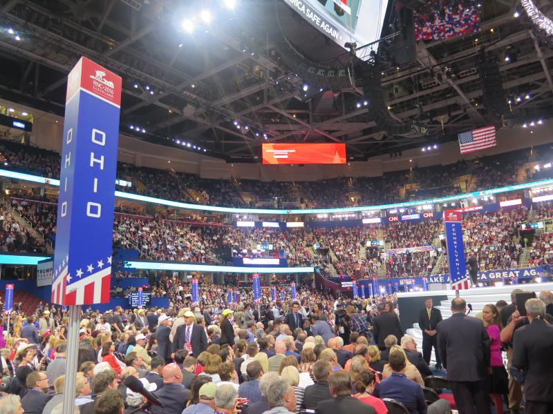 photo of delegation seats