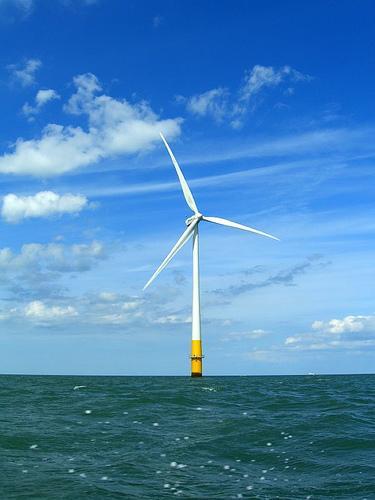 photo of wind turbine