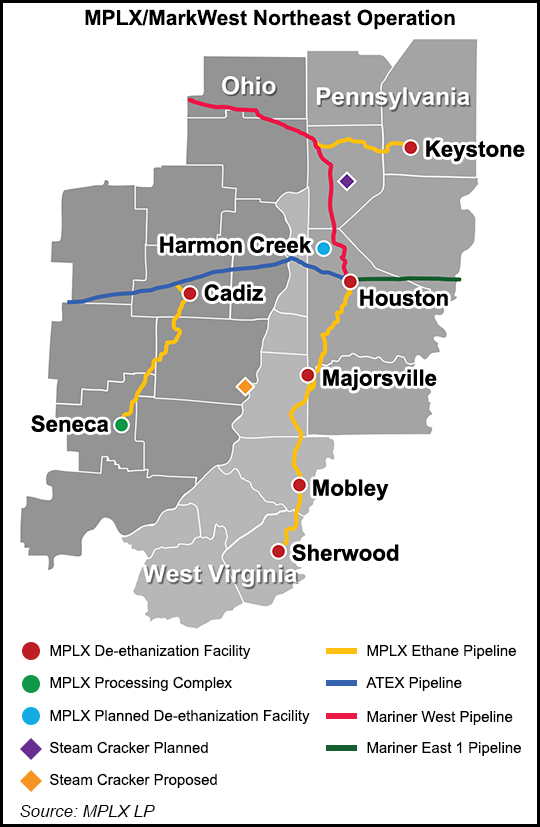 Pipeline Map for Apalachian Region