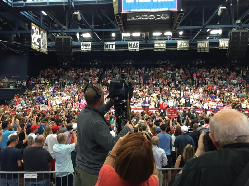 Trump Rally in Akron