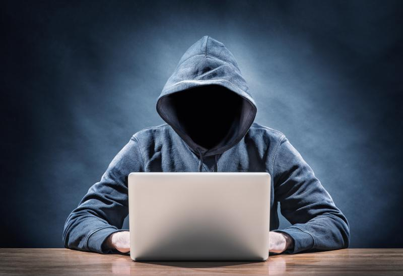 photo of a hacker