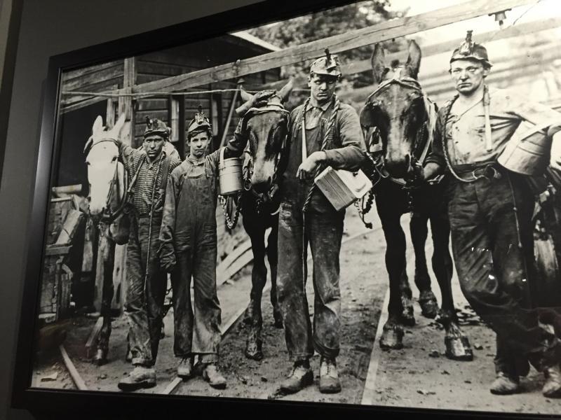 Miners in Harrison County