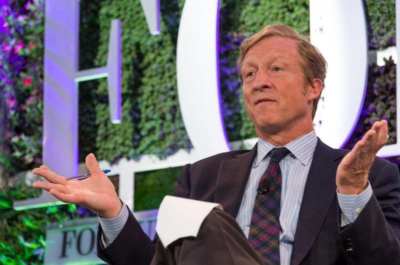 Billionaire environmentalist Tom Steyer is putting an estimated $20 million  toward galvanizing young voters in seven swing states -- Ohio, of course,  ...