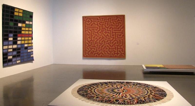 photo of carpets on the wall