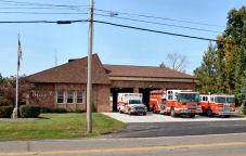 Plain Township fire station