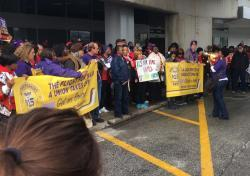 photo of airport workers
