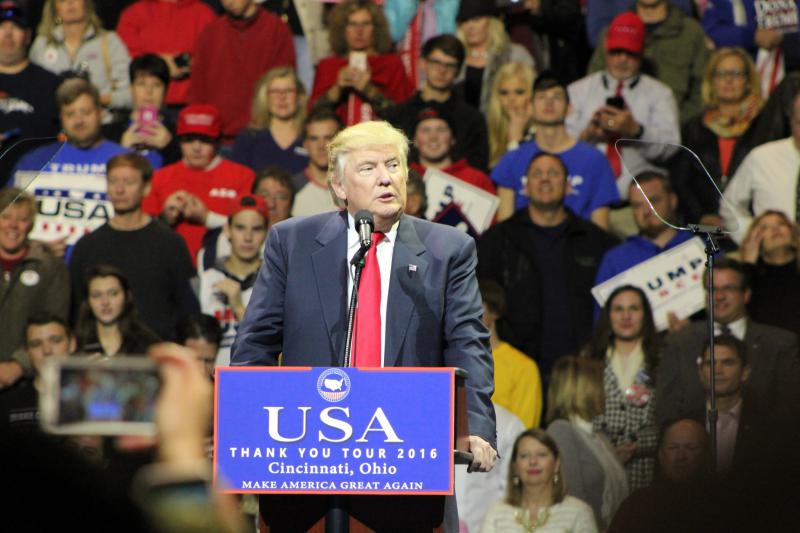 Donald Trump victory in Cincinnati