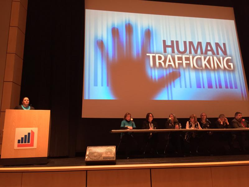 photo of human trafficking conference