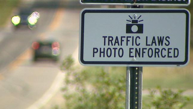 photo of traffic law sign