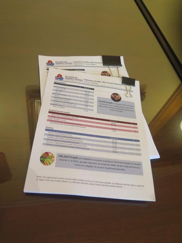 photo of data sheets
