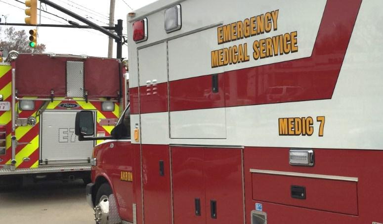Ambulance, Akron Fire Department