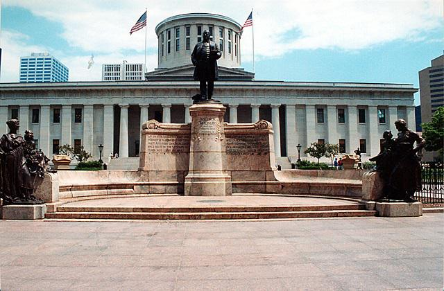 photo of McKinley memorial
