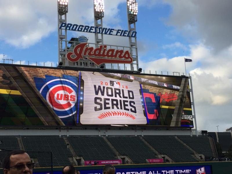 Last year's World Series appearance has made this year's Indians home opener an even bigger event