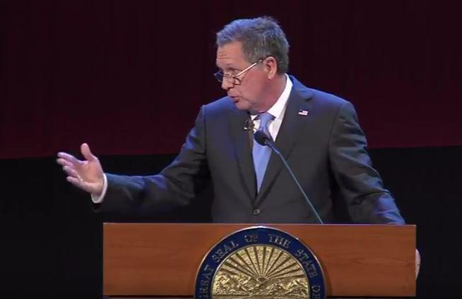 Kasich at the 2017 State of the State