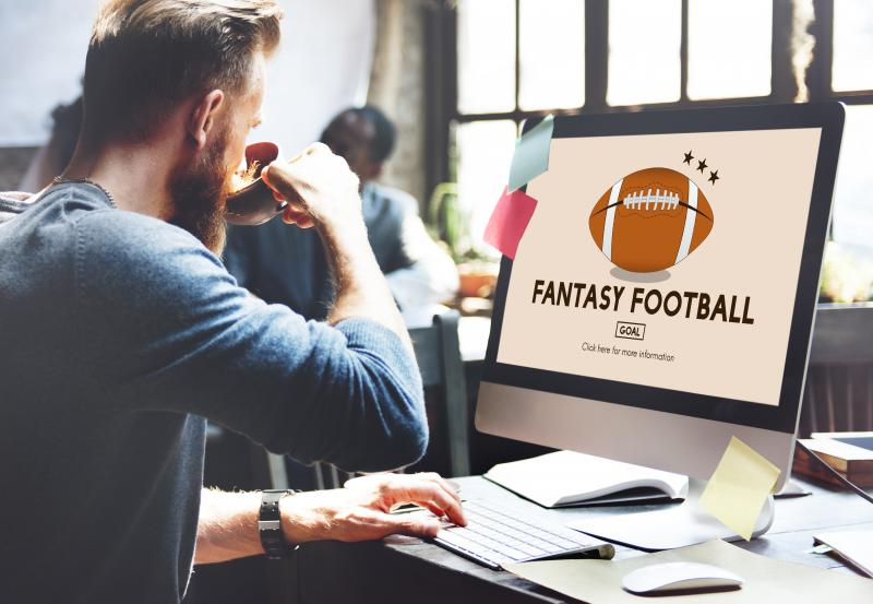 stock photo of fantasy football