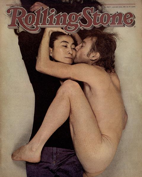 photo of John Lennon, Yoko Ono, Rolling Stone