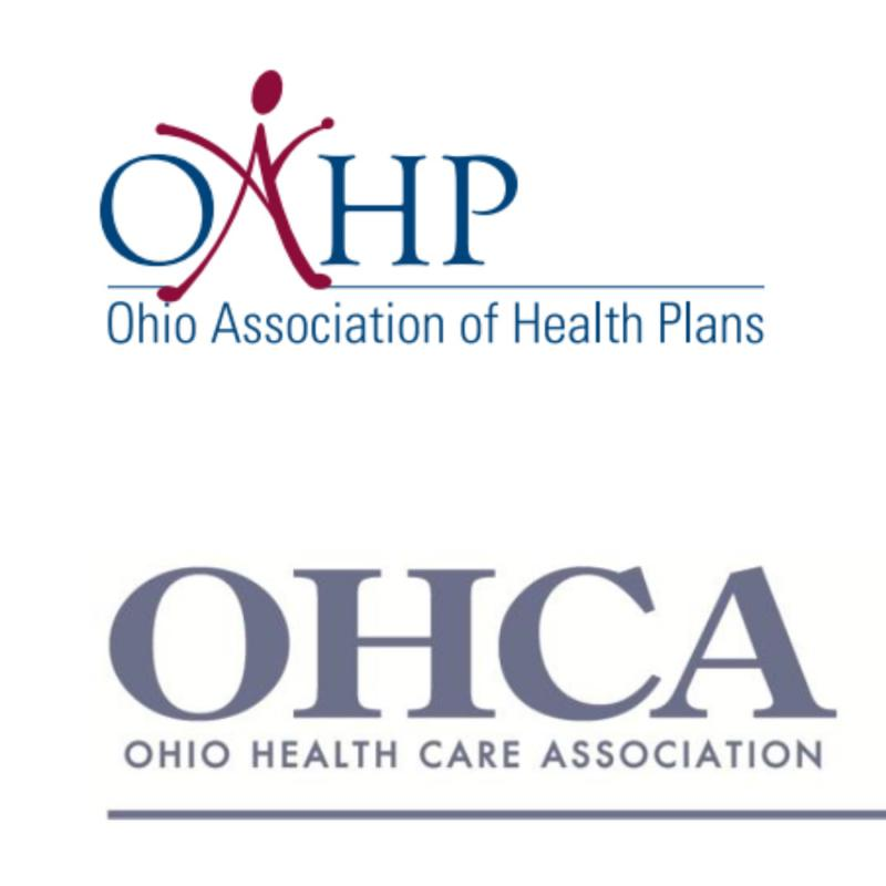 photo of Ohio Healthcare Association and Ohio Association of Health Plans collage