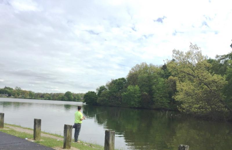 PORTAGE LAKES FISHERMAN