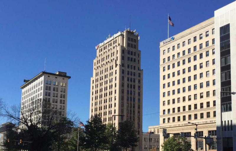 Youngstown business district