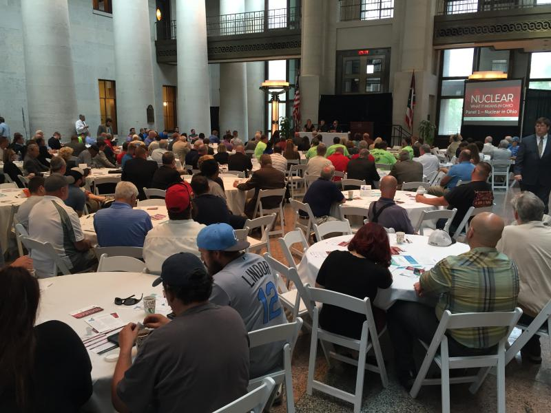 photo of Statehouse nuclear symposium