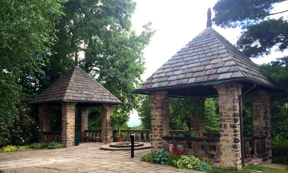 photo of Stan Hywet Tea Houses