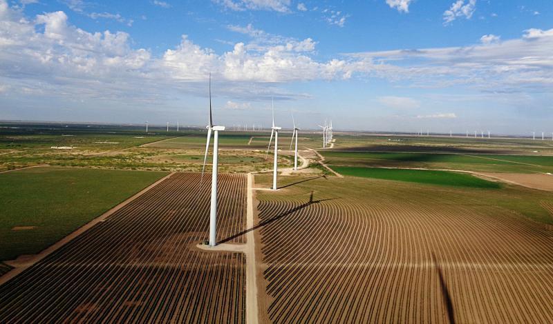 Oklahoma wind farm