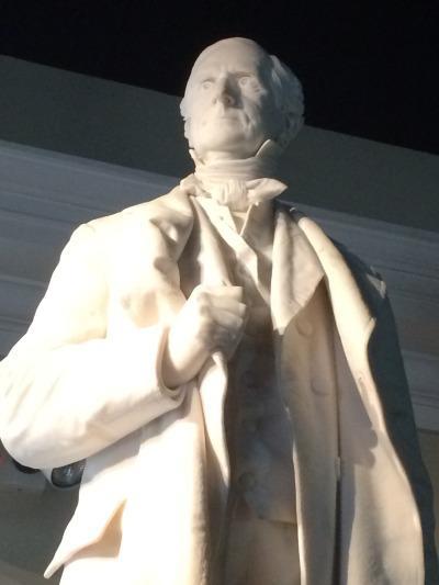 photo of William Allen statue
