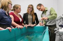 photo of Central Michigan University researchers