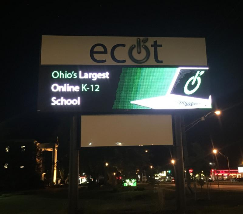 photo of ECOT sign