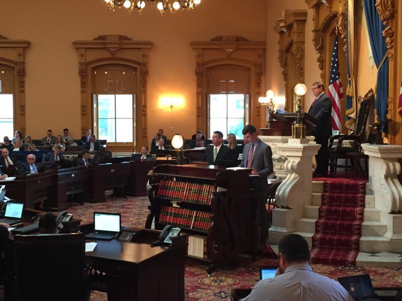 photo of Ohio Senate override votes