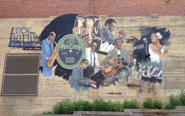 Lock 4 jazz mural