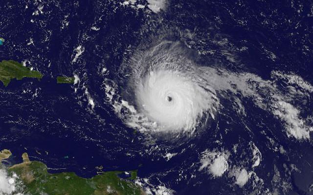 photo of Hurricane Irma