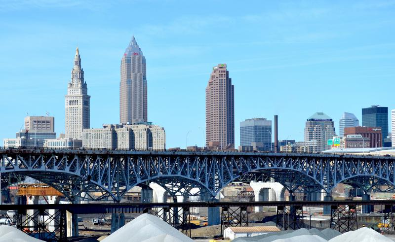photo of downtown Cleveland