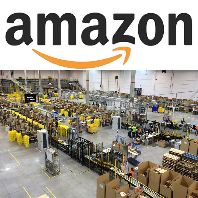 photo of Amazon warehouse