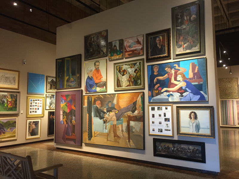 The exhibit Salon Style: Works from the Permanent Collection Vault is a first for the Canton Museum of Art