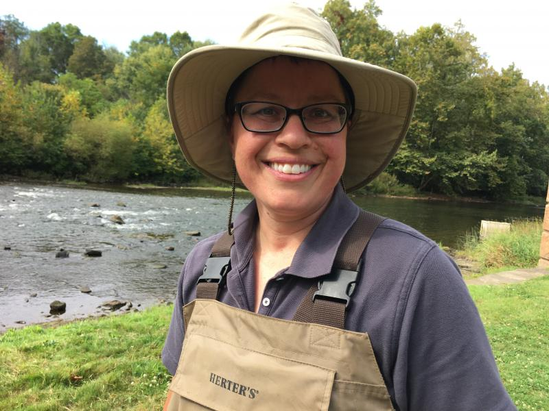 Angela Dripps is head of the biological assessment section of the Ohio EPA.