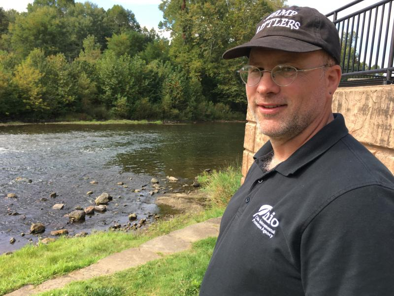 Bill Zawiski is head of the region's surface water division. He says the comprehensive survey of the Cuyahoga River will be presented in 2019 to mark the 50th anniversary of the 1969 fire on the water.